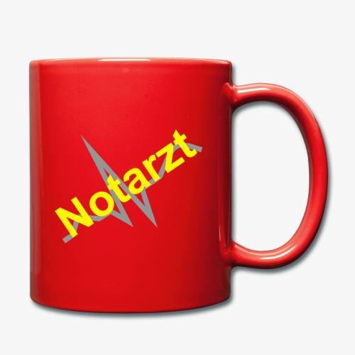 Tasse Notarzt - Tasse einfarbig