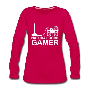 Woman Gamer Sweatshirt 2 - Women's Premium Longsleeve Shirt