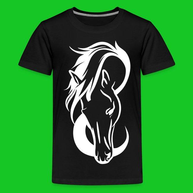 Paardenhoofd line teenager t-shirt
