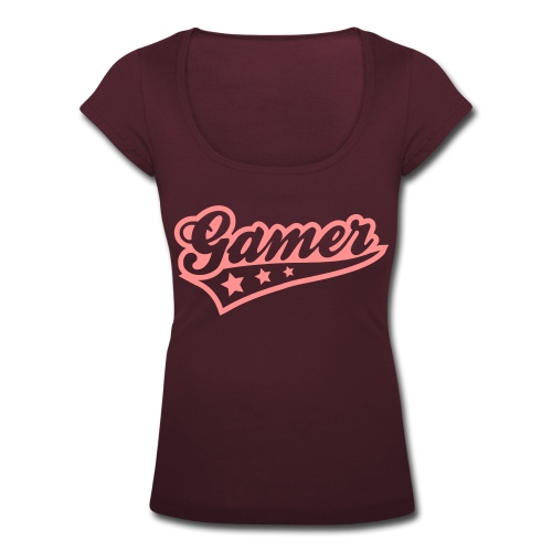 Girl Gamer 3 - Women's Scoop Neck T-Shirt