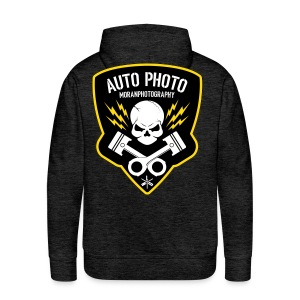 Skull & Piston (Yellow) - Men's Premium Hoodie