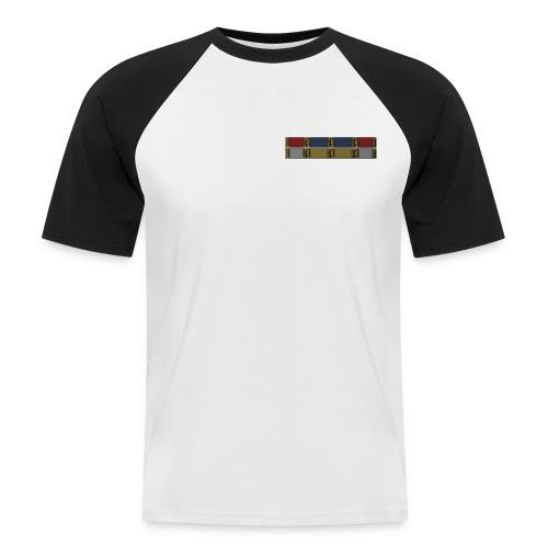 Baseball-T-Shirt mit Ordensband - Männer Baseball-T-Shirt