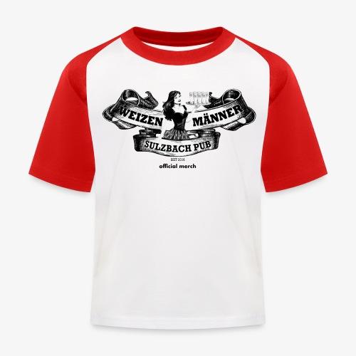 Baby wzmer-Baseballshirt - Kinder Baseball T-Shirt