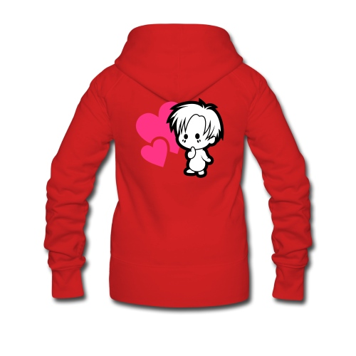 Chibi, women's - Women's Premium Hooded Jacket
