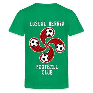 Basque football club - Teenage Premium T-Shirt