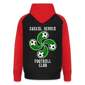 Basque football club - Unisex Baseball Hoodie