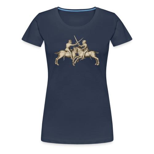 rossfechten fitted - Premium-T-shirt dam