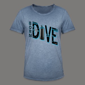 Born to Dive - Männer Vintage T-Shirt