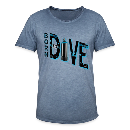 Born to Dive - Männer Vintage T-Shirt