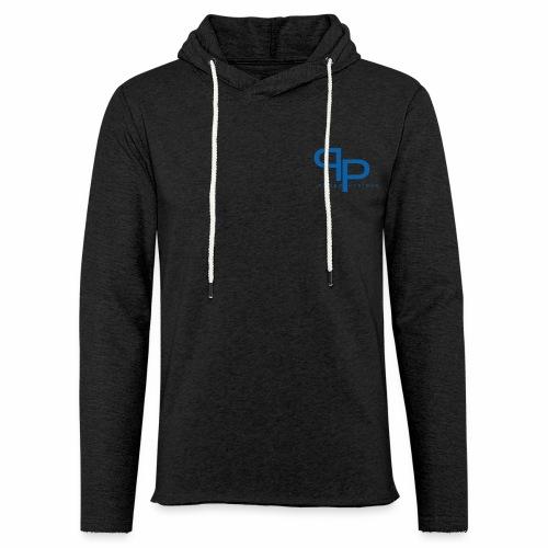 Workout hoodie blue logo (unisex) - Lichte hoodie unisex