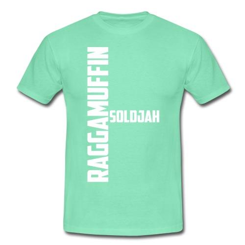 Raggamuffin Soldjah Männer Shirt fresh vibez - Männer T-Shirt