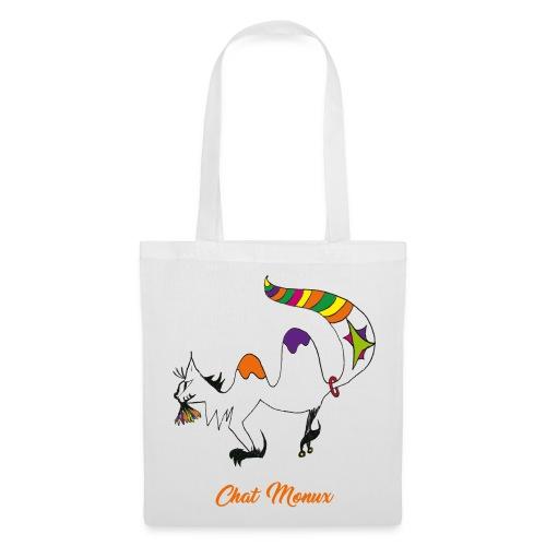 Sac en tissu - Chat Monux - Tote Bag
