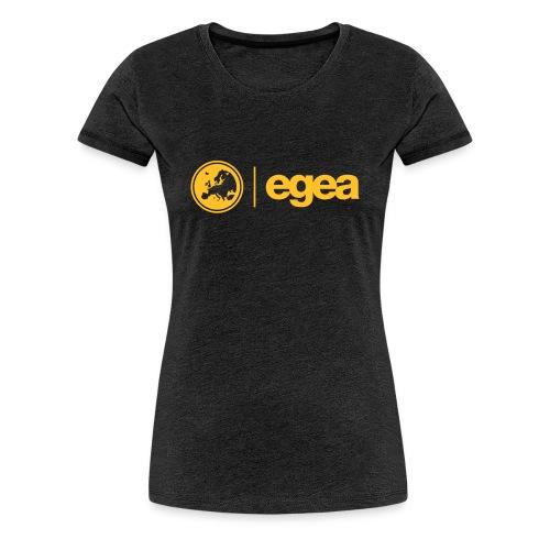 T-Shirt with EGEA Logo - WOMEN - Women's Premium T-Shirt