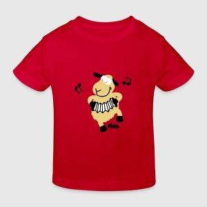 Red sheep (c) Kids' Shirts - Kids' Organic T-shirt