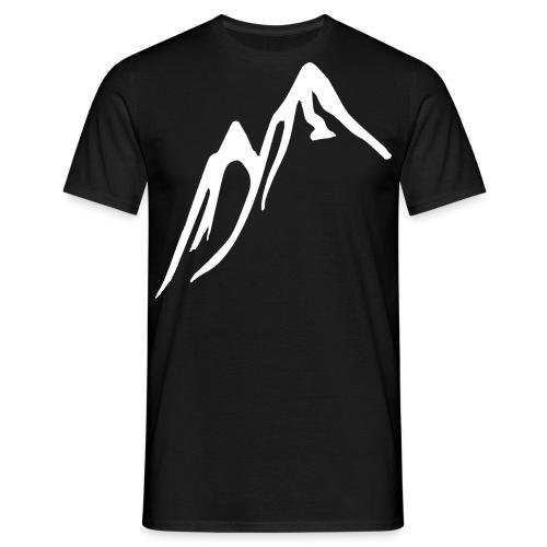 Berg T-Shirt Herr (VITT TRYCK) - T-shirt herr