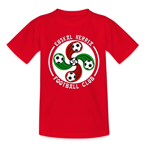 Basque football club - Teenage T-Shirt