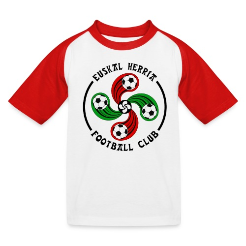 Basque football club - Kids' Baseball T-Shirt