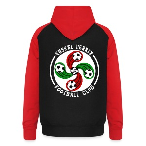 Basque football club - Unisex Baseball Hoodie