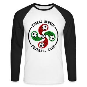 Basque football club - Men's Long Sleeve Baseball T-Shirt