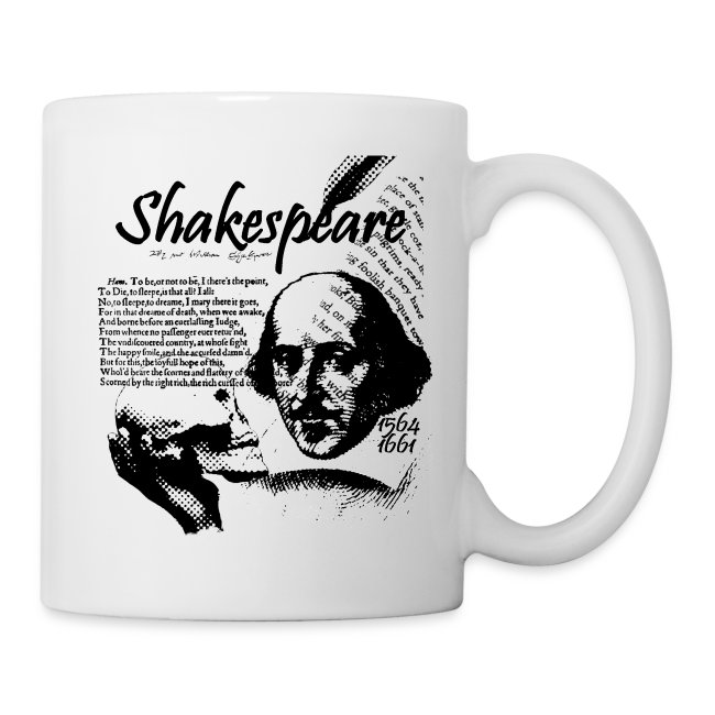 Taza William Shakespeare