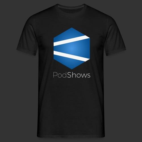 T-Shirt PodShows Homme noir - T-shirt Homme