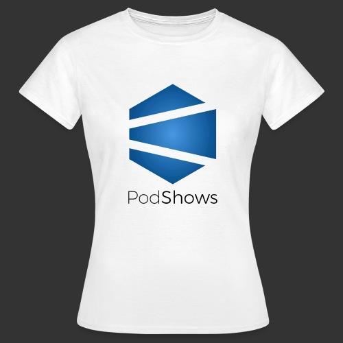 T-Shirt PodShows Femme blanc - T-shirt Femme