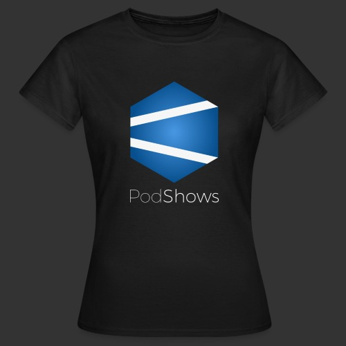 T-Shirt PodShows Femme noir - T-shirt Femme