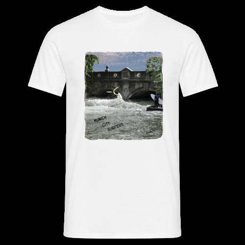BOARDEVIL Munich City Surf - Männer T-Shirt