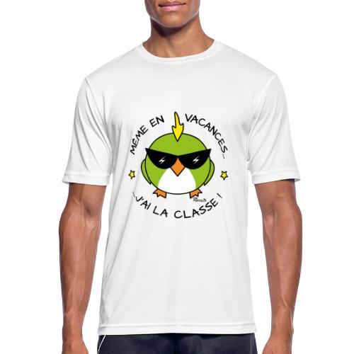 T-shirt respirant Homme, Cadeau Instit, Maître d'école - T-shirt respirant Homme