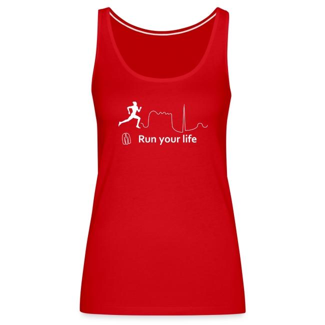 Top sportivo donna megalomane - Run Your Life