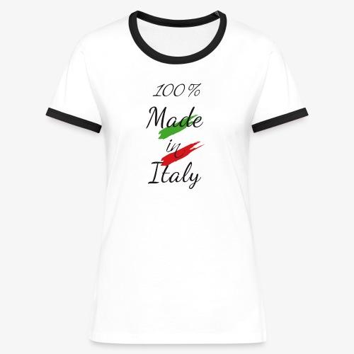 Made in Italy for girl - Maglietta Contrast da donna