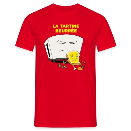 Tartine beurée homme - T-shirt Homme