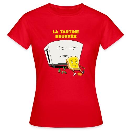 Tartine beurée femme - T-shirt Femme