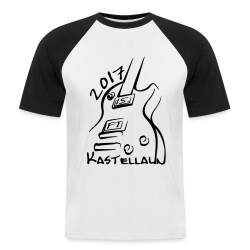 Baseball-Shirt Herren vorn  bedruckt (M - XL) - Männer Baseball-T-Shirt