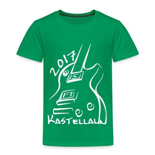 Kinder T-Shirt vorn bedruckt (98/104 - 134/140) - Kinder Premium T-Shirt