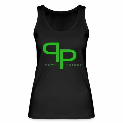 Tanktop green logo (vrouwen) - Vrouwen bio tanktop van Stanley & Stella