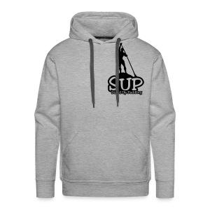 Männer Premium Hoodie: SUP Stand Up Paddling 2017 einfarbiges Motiv - Men's Premium Hoodie