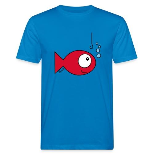 T-shirt Bio Homme, Poisson rouge - T-shirt bio Homme