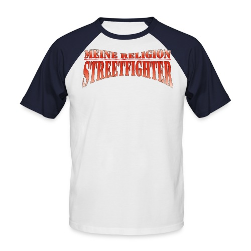 RELIGION Rag rot - Männer Baseball-T-Shirt