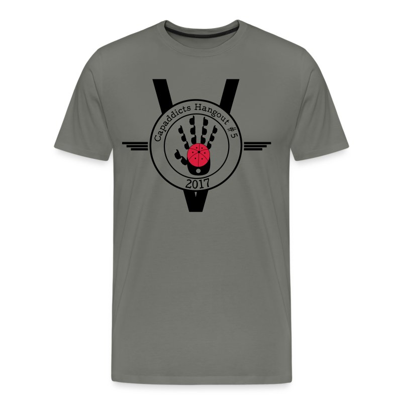 capaddicts treffen 5 - Männer Premium T-Shirt