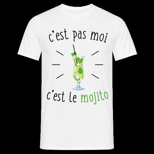c'est pas moi, c'est le mojito - T-shirt Homme