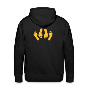 happy feet - Men's Premium Hoodie