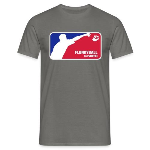 Flunkyball Shirt - Die PARTEI Special Edition - Männer T-Shirt