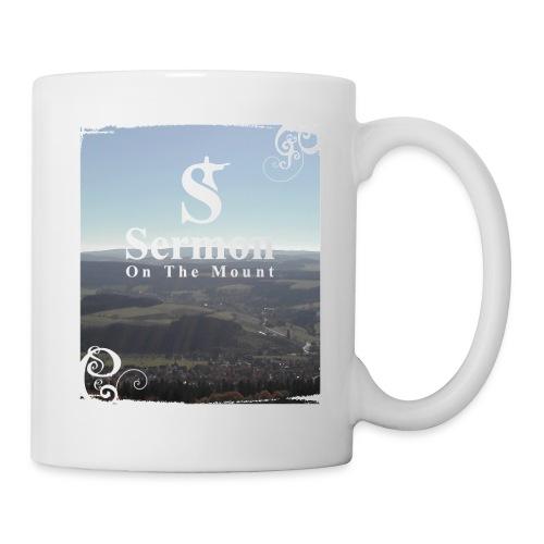 Weiße SOTM Tasse, helle Berge - Tasse