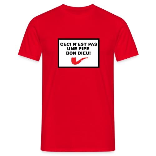 Ceci n'est pas une pipe - T-shirt Homme