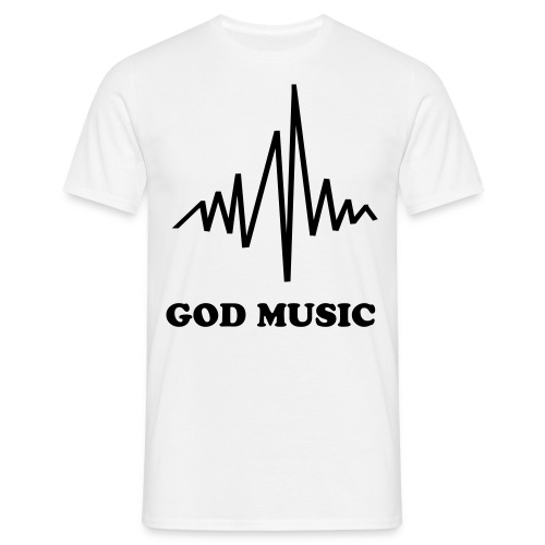 god music  - T-skjorte for menn
