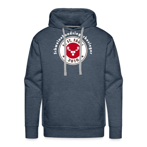 Schweinehundsiegerbesieger - Männer Premium Hoodie