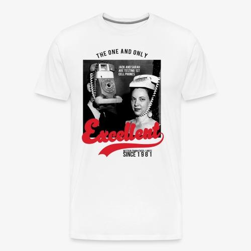 XCLLT - 1st Cell Phone - T-shirt Premium Homme