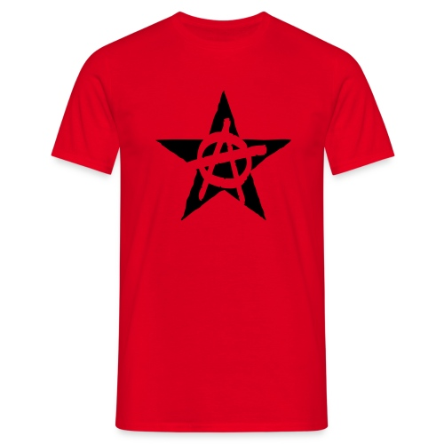 Anarchy Star T-Shirt - Men's T-Shirt