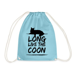 Long Live The Coon Maine Coon Beutel - Turnbeutel